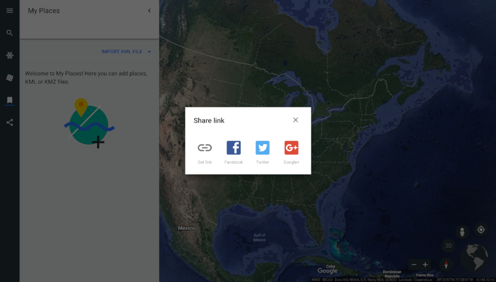 Export - Link to the mapFacebookTwitterGoogle+