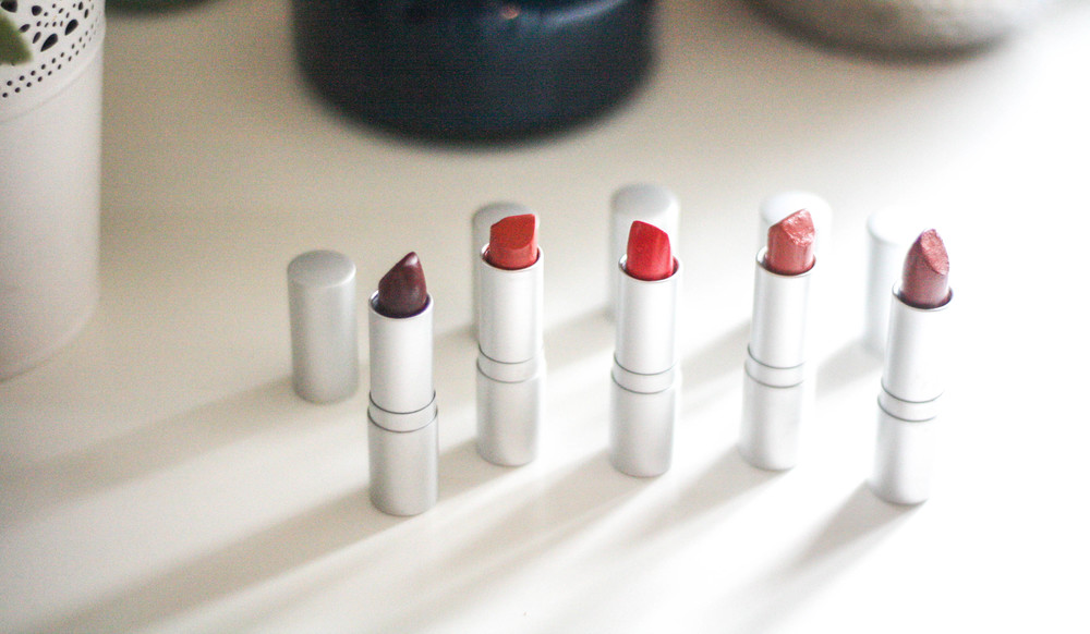 (left to right: Famous, Bell, Bombshell, Flirt, Vintage Kiss)
