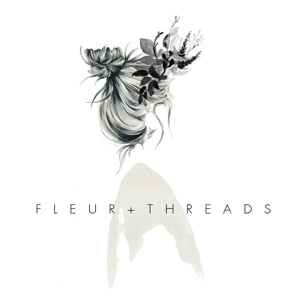 Branding Design & Illustration for Sydney based floral stylist Fleur & Threads.