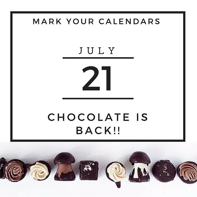 It's back!! Yes exciting news all! We have brought back our long table dinner with chocolate as the hero ingredient. Are you on our newsletter to get pre sale tickets tomorrow?? ( link in Bio)