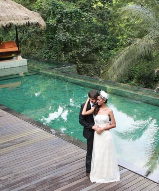 Hanging Gardens Exceptional Ubud Wedding at Hidden Palace Bali