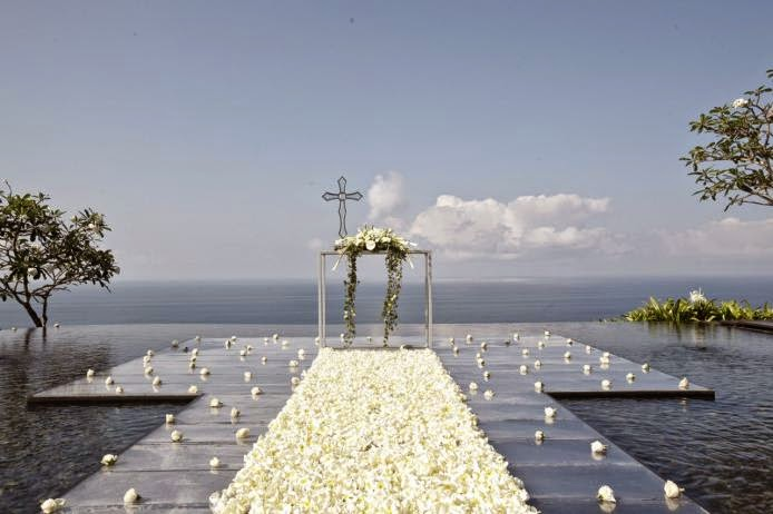 Bulgari Water Wedding Bali For Two Wedding Planner