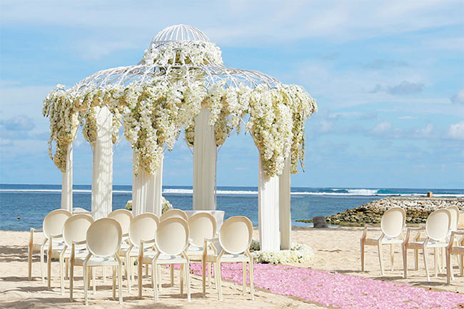 650 Beach Wedding At Mulia Bali2