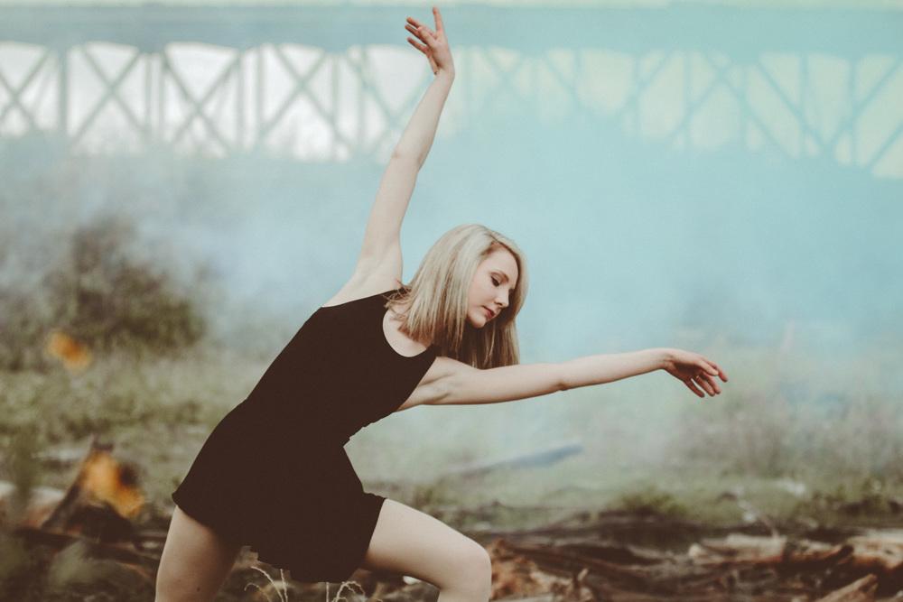 Dancer smoke portrait
