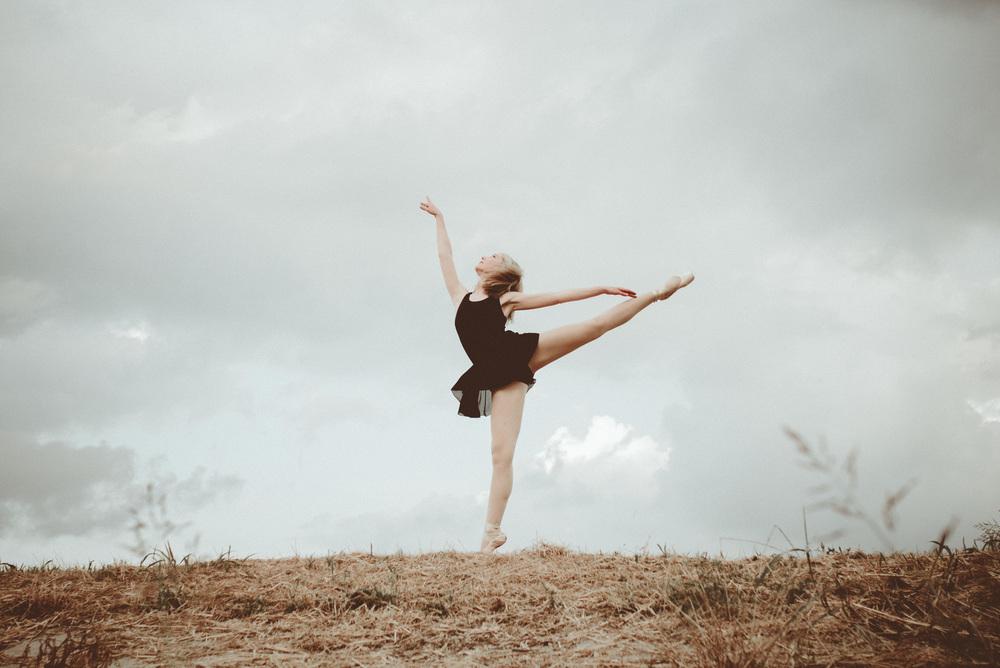 Dancer lifestyle portrait