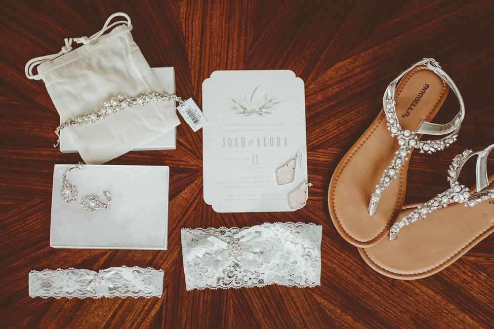 Wedding details. Josh + Alora | Classic Denham Springs Wedding. Photos by Christi Childs with The Picture People LA photography Baton Rouge, Louisiana