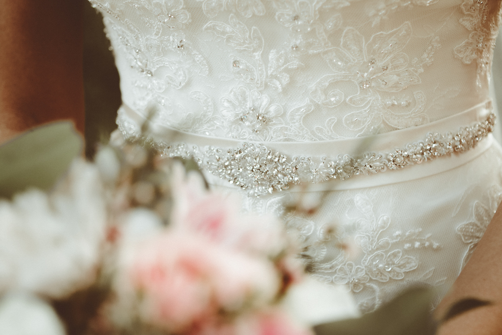 Beading Details Josh + Alora | Classic Denham Springs Wedding. Photos by Christi Childs with The Picture People LA photography Baton Rouge, Louisiana