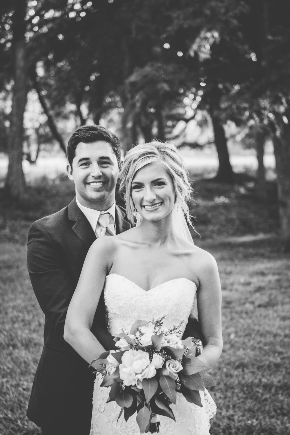 Josh + Alora | Classic Denham Springs Wedding. Photos by Christi Childs with The Picture People LA photography Baton Rouge, Louisiana at the oakleigh lodge