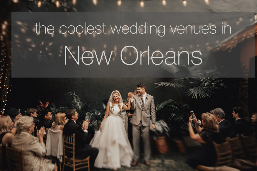The coolest wedding venues in new orleans christi childs creative cool wedding venues in new orleans junglespirit Image collections