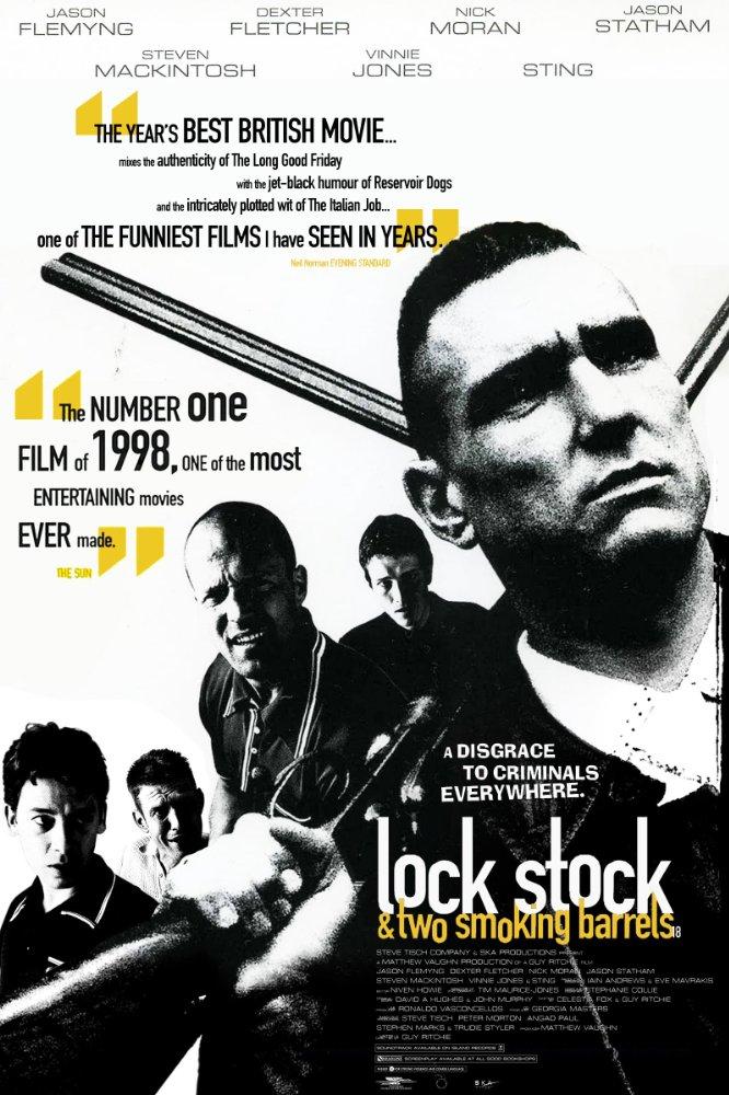 Lock, Stock and Two Smoking Barrels (1998) – Jason Flemyng, Jason Statham