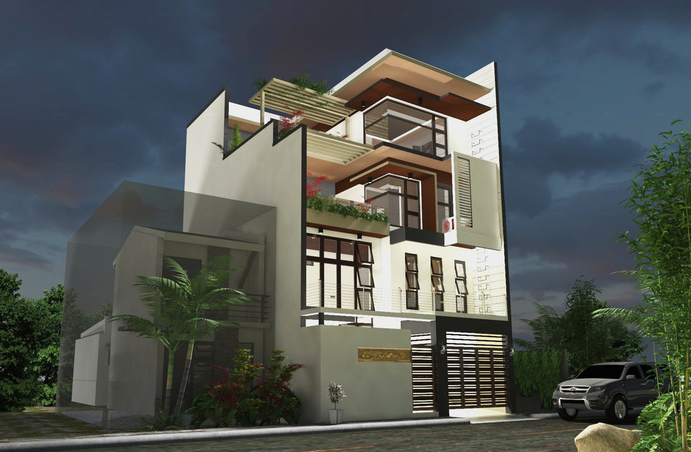 4-Storey 3-Bedroom Residence