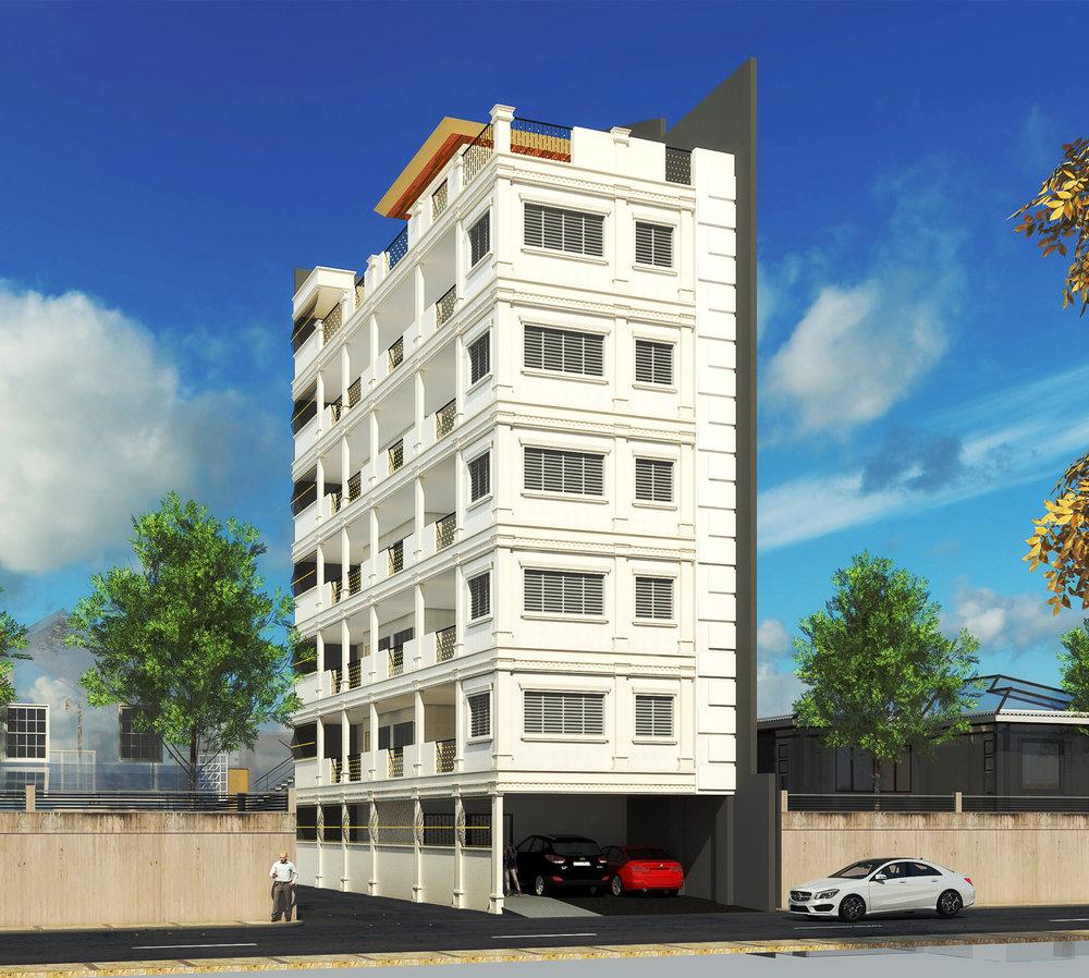 6-Storey 16 Unit Residence