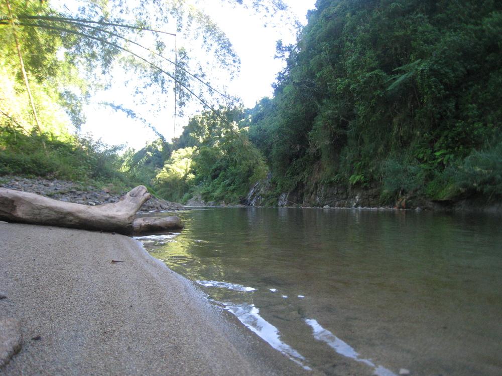 Bamboo Raft Construction Site