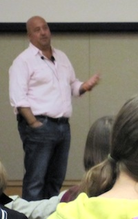 Andrew Zimmern Talking, Lecture