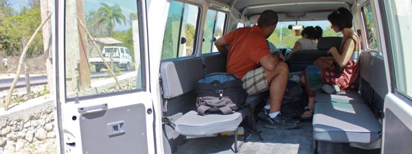 Driving around Haiti