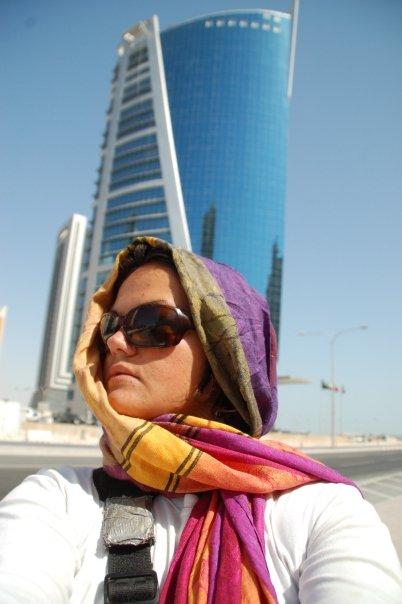 Lindsay in Doha, Qatar
