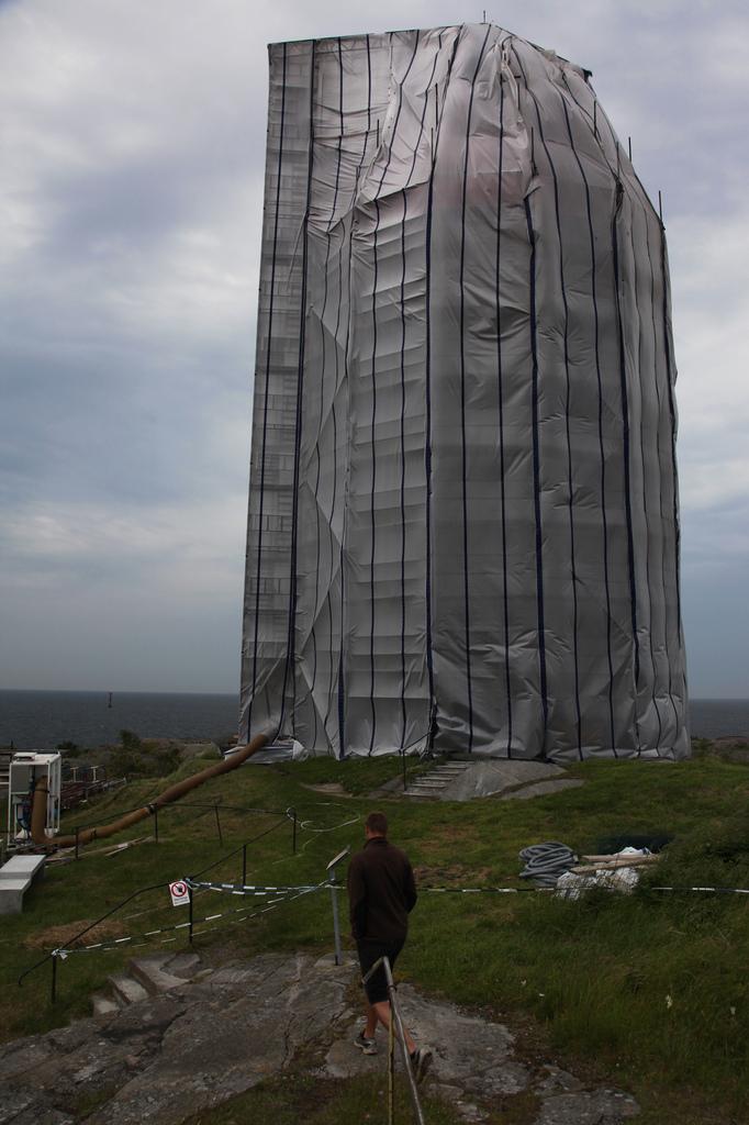 The lighthouse on Öja island