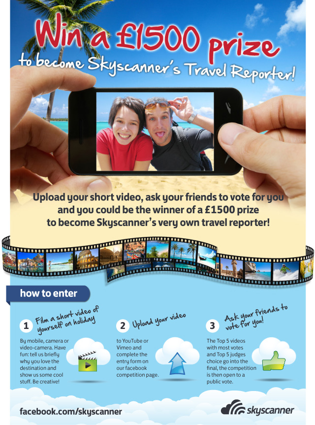Skyscanner Travel Reporter Competition