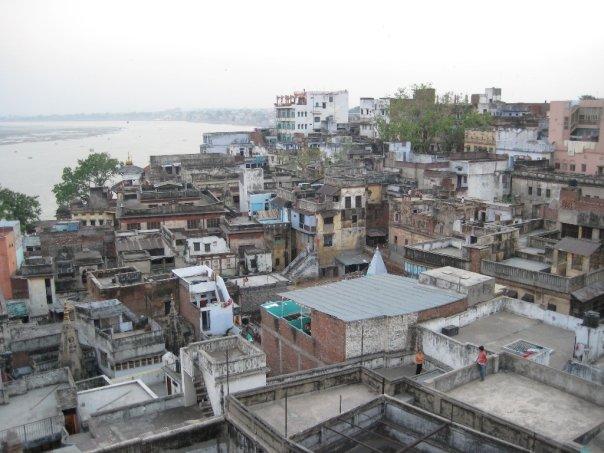 Varanasi rooftops, India