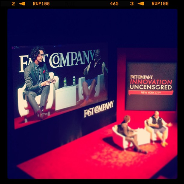 Mario Batali at the Fast Company Innovation Uncensored conference