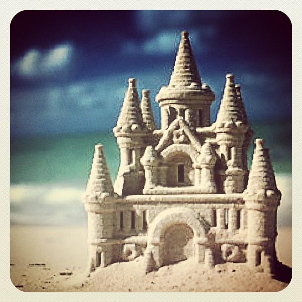 Sand castle magic