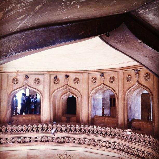 Inside Charminar, Hyderabad, India