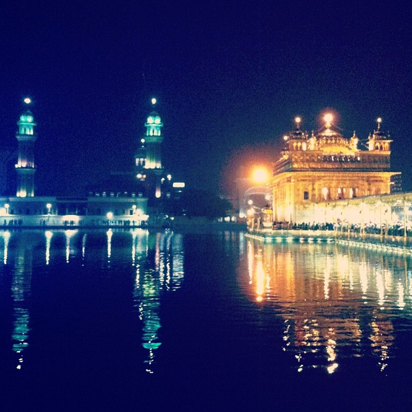 Amritsar's Golden Temple, India