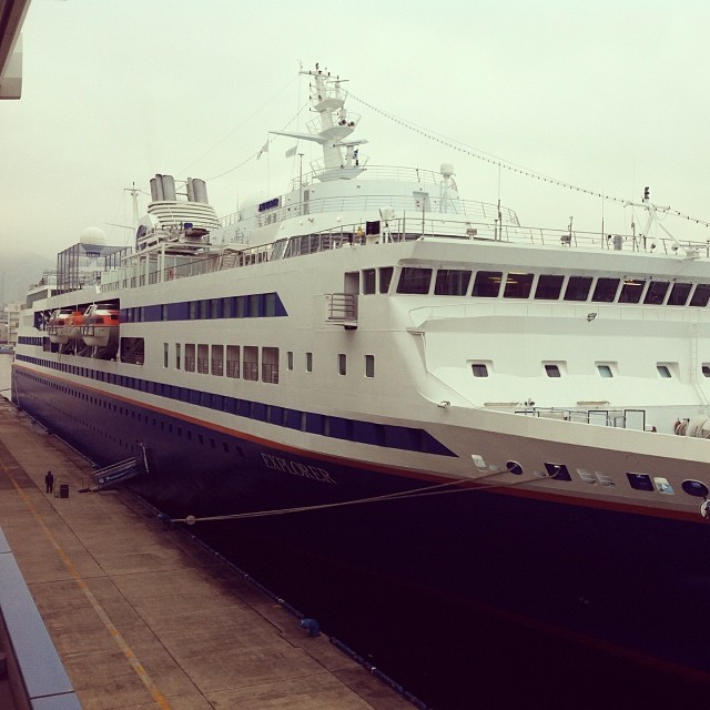 MV Explorer in Kobe, Japan 2014