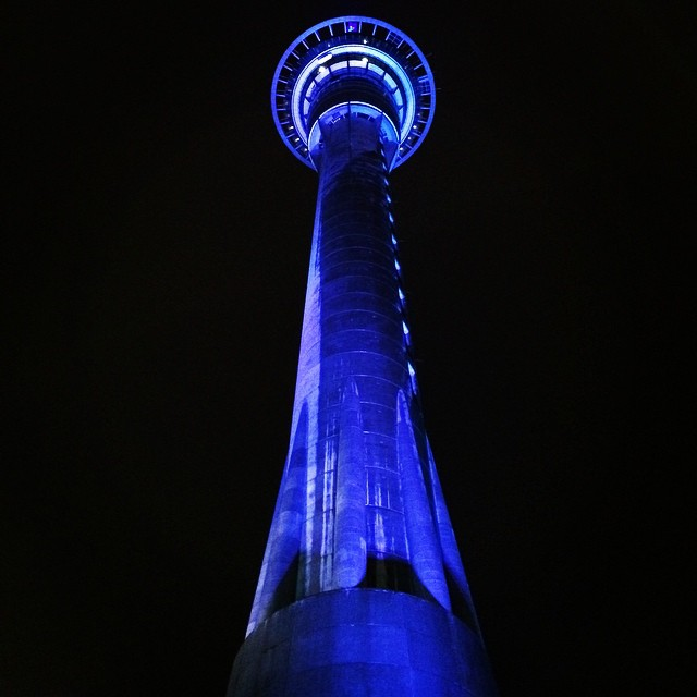 Sky Tower in Auckland, New Zealand