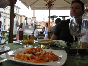 Piazza Navona Lunch