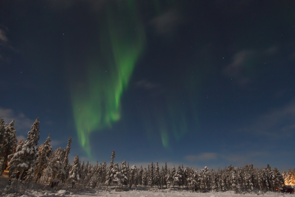3. Seeing the Northern Lights. Image by Lindsay courtesy of TGS, 2015