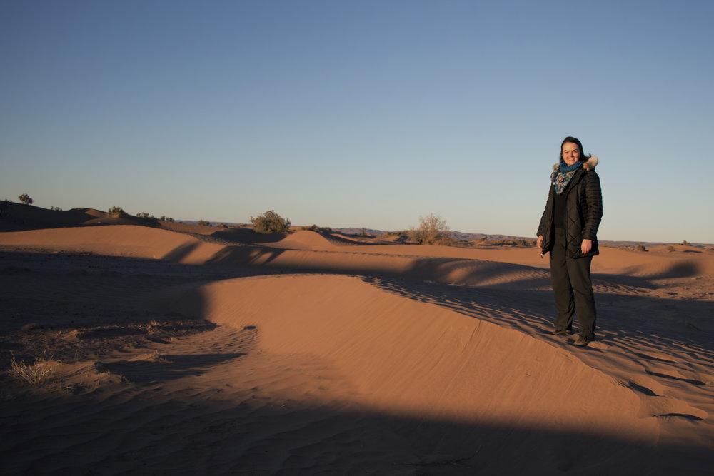 I made it to the Saharan Desert!