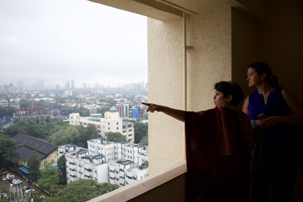 Checking out Mumbai from above with Deepa Krishnan