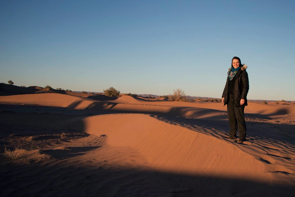 A quick overnight in the Sahara desert to experience the setting of The Sheltering Sky