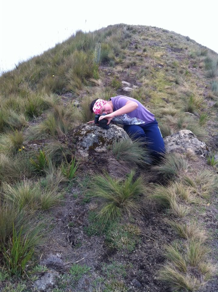 Hiking outside of Cuenca, Ecuador