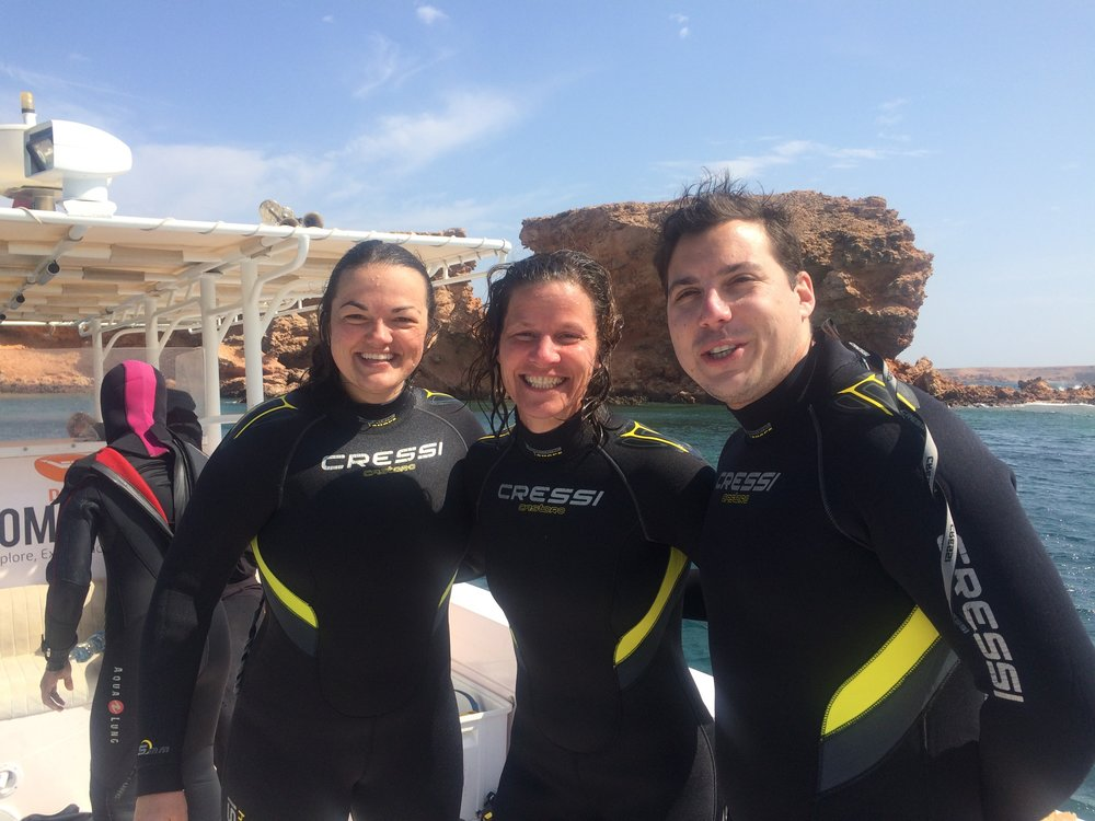 Snorkeling and SCUBA diving in the Damaniyat Islands of Oman
