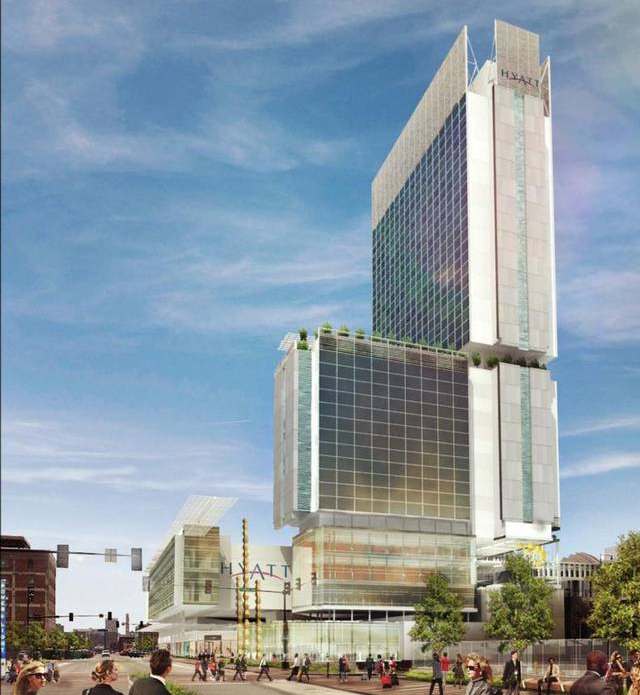 CONVENTION CENTER HOTEL CAN BYPASS VOTE