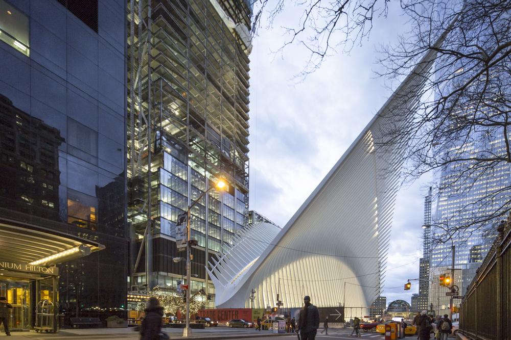 CALATRAVA'S WTC TRANSIT HUB