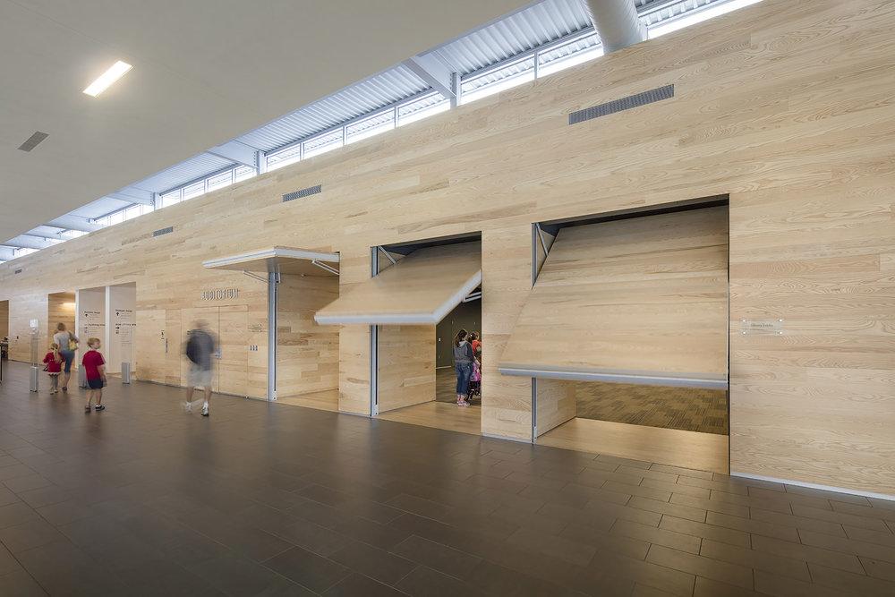 Auditorium-Doors Opening (LPL) b.jpg & MidCoast Design Record-LAWRENCE \u2014MidCoast Design Record