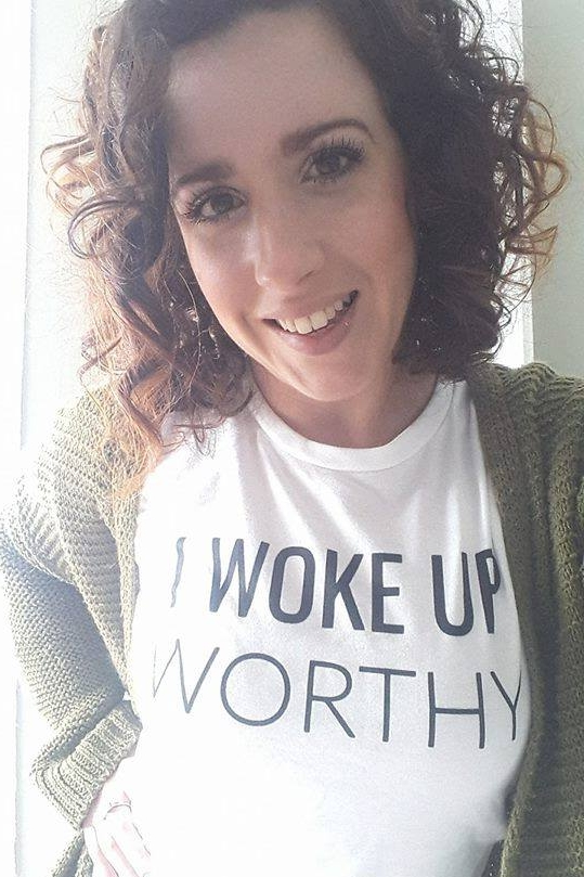 And last, but certainly not least you'll receive theexclusive I Woke Up Worthy tee to remind you that you are always more than enough!* - * You'll need to email me at info@britnywest.com with your size. The shirts do run small so I'd recommend sizing up.Modeled by the lovely Summer ;)