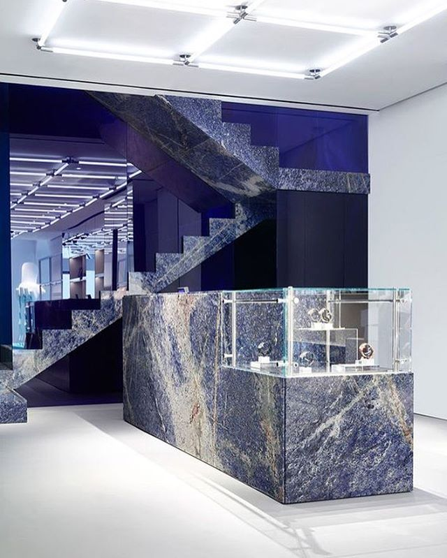 Marble Obsession  @kenzo Milan flagship store designed by #kenzo in-house creative directors Carol Lim and Humberto Leon