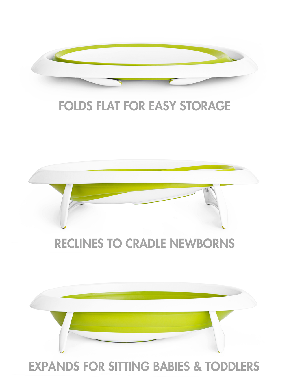 Boon Collapsible Baby Bath - great for travel and every day use!