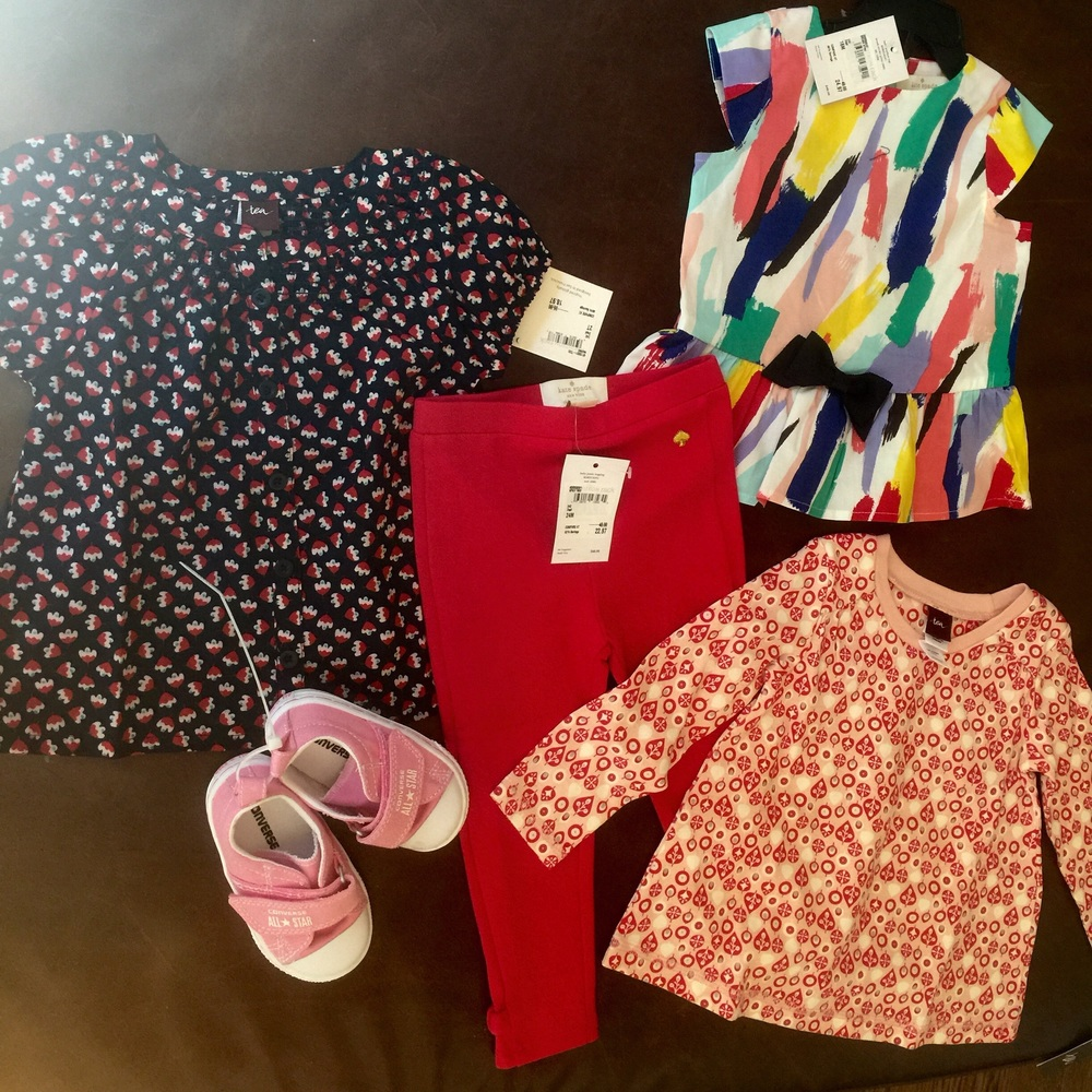 When dad's away the girls will play- and shop!