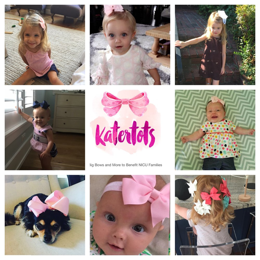 Tag your photos with #shopkatertots