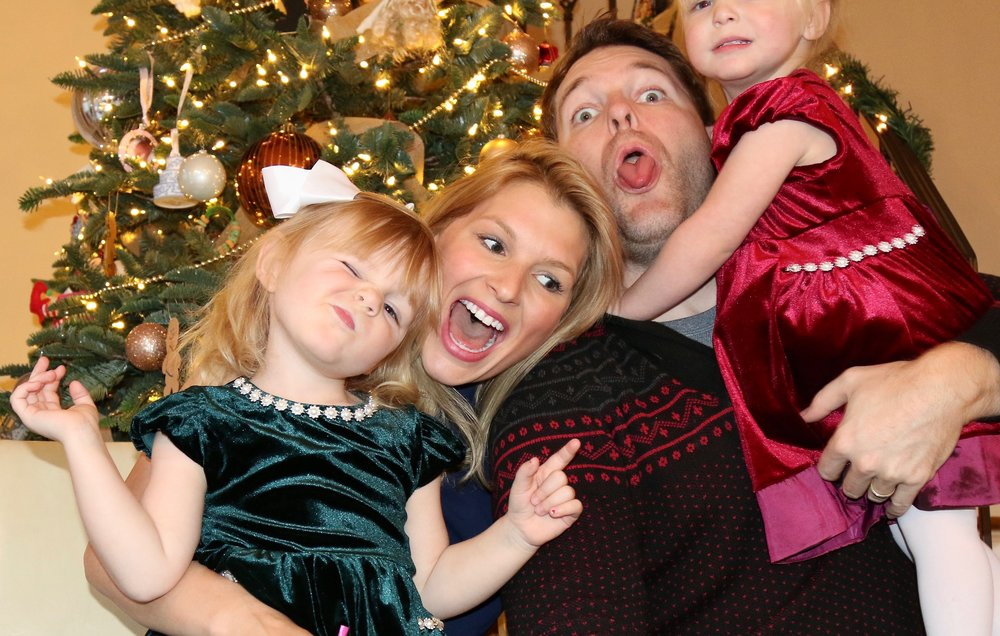 Failed attempt as a family photo... oh well!
