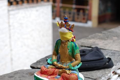 Alicia Morga Blindfolded Buddha