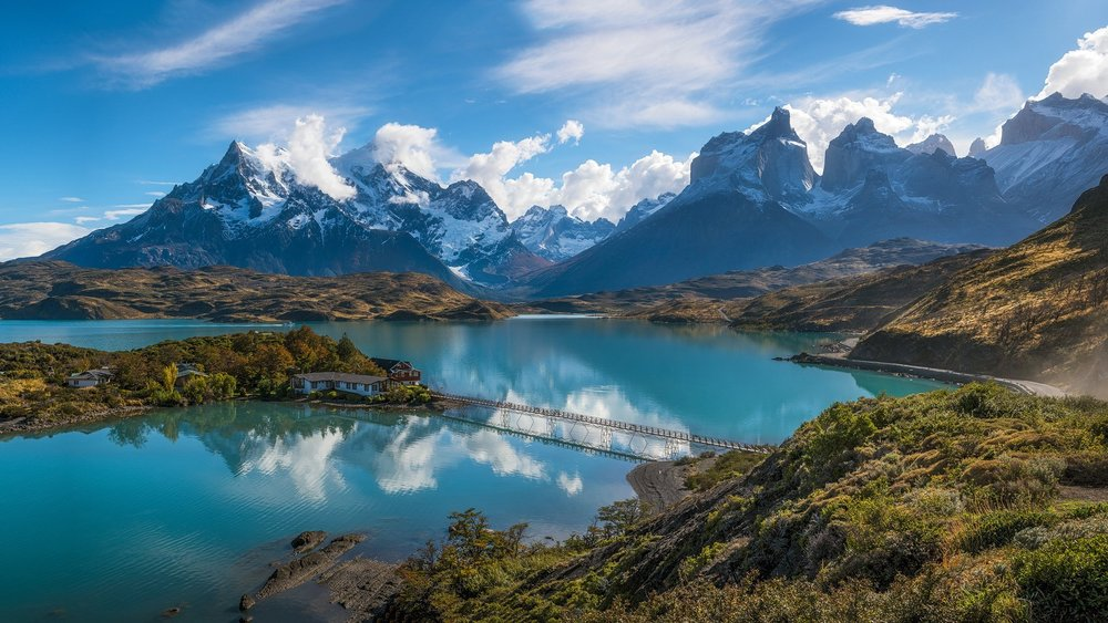 Andres Mountains, Chile Patagonia