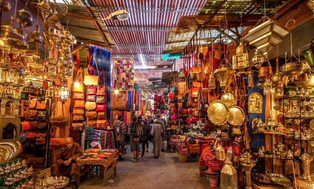 Medina Markets,   Marrakesh Morocco