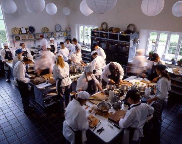 Cooking classes at the Ballymaloe School