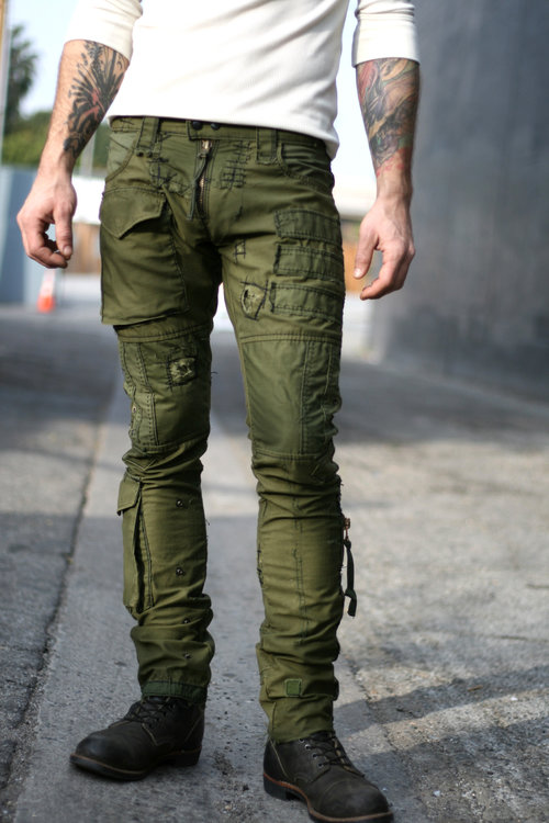 Army Pant- Sample — Bone Black LA f25fcc8d5ee